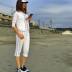 フレンチテリー/七分パンツ(ユニセックス全5色)