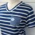 胸ポケット付半袖VネックTシャツ【レディース全13色】#2560A